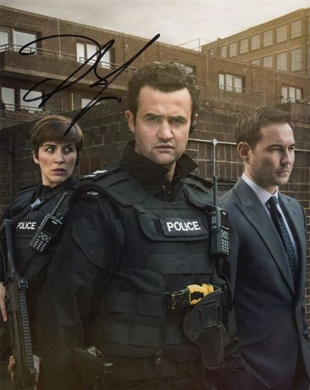 Daniel Mays, Line of Duty, signed 10x8 inch photo.